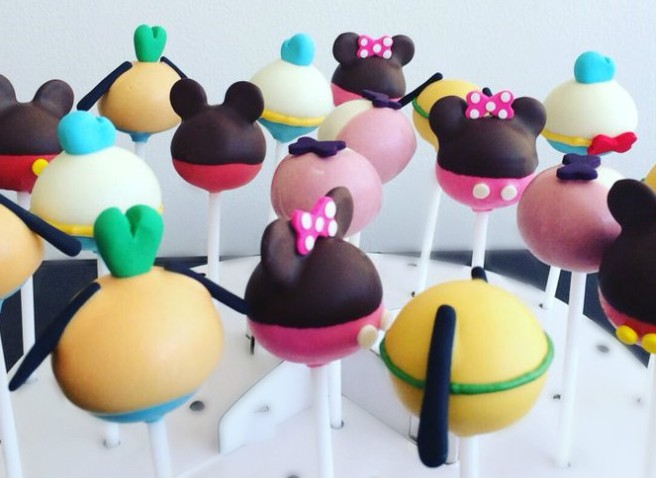 Disney Characters Popcakes