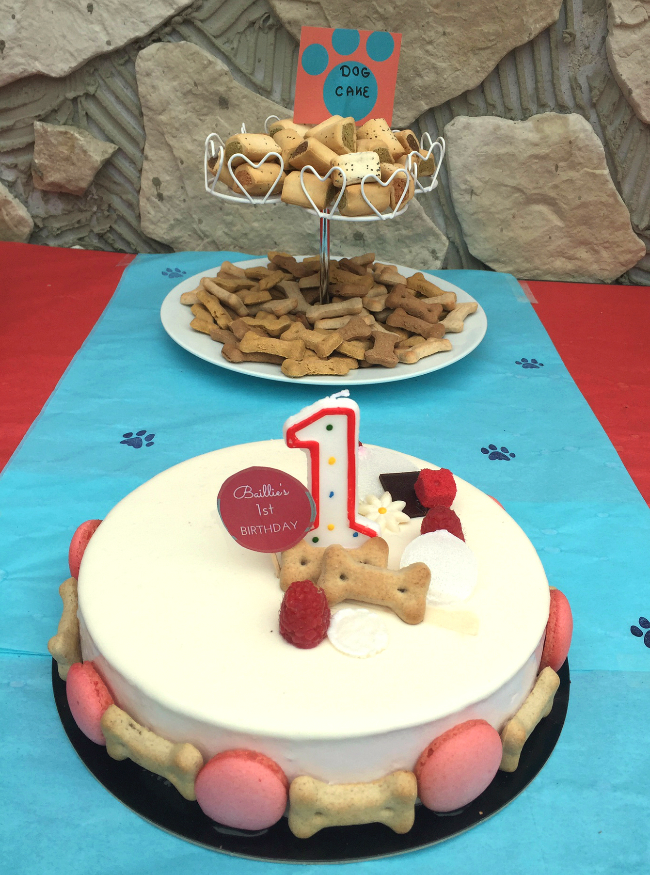 Dog Party Cake The Party Ville Party Planner Luxembourg