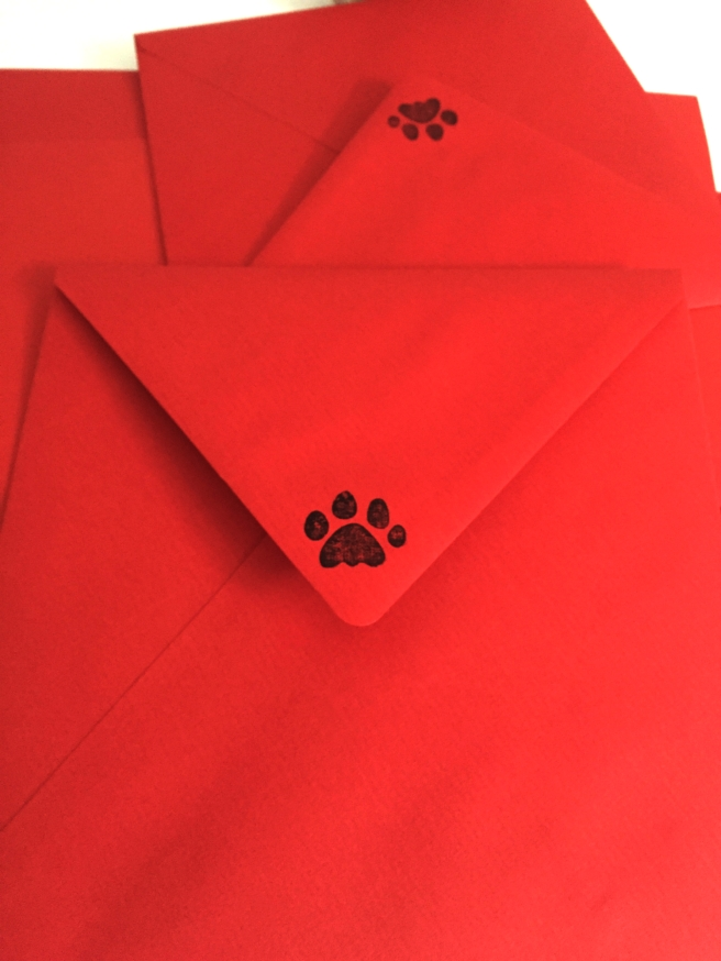 Dog Party Envelopes