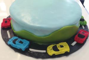 Banana Cake Cars