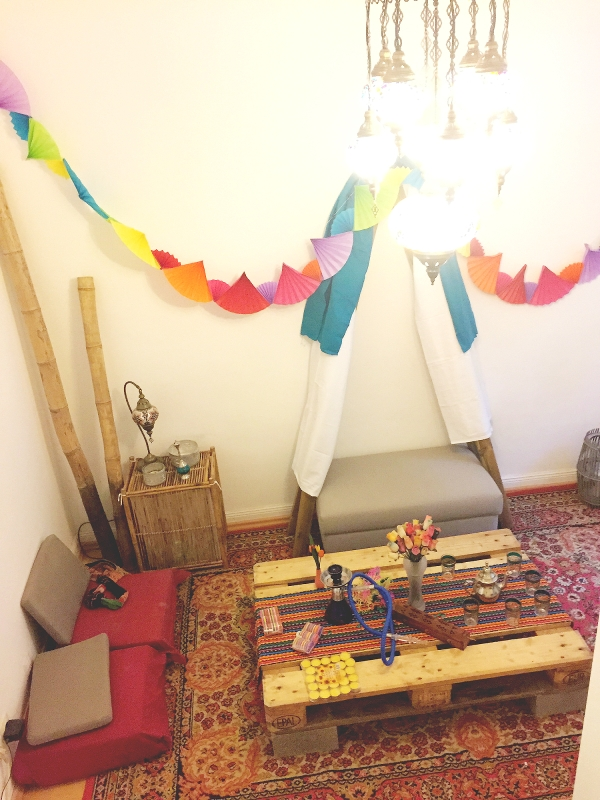 Bohemian Party Decor Room