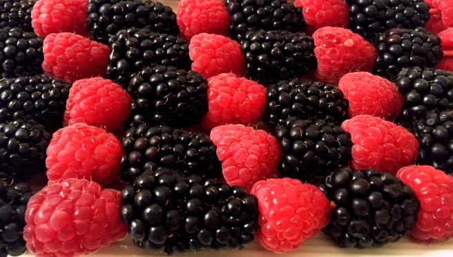 Raspberry Skewers