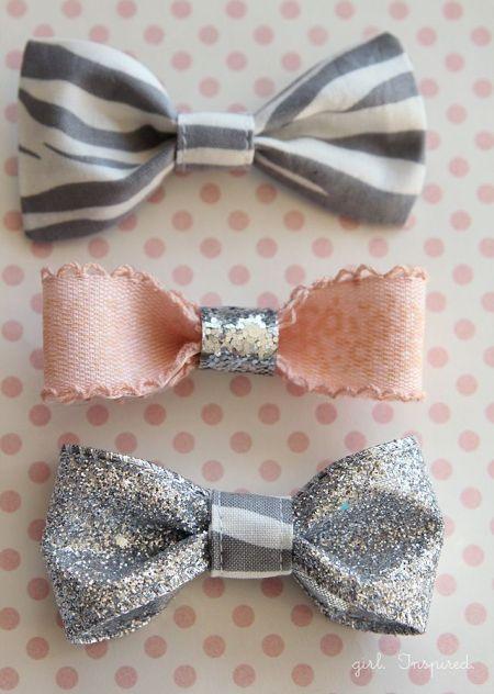 Bows glitter