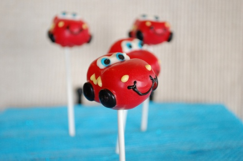 Disney Characters Pop cakes Cars