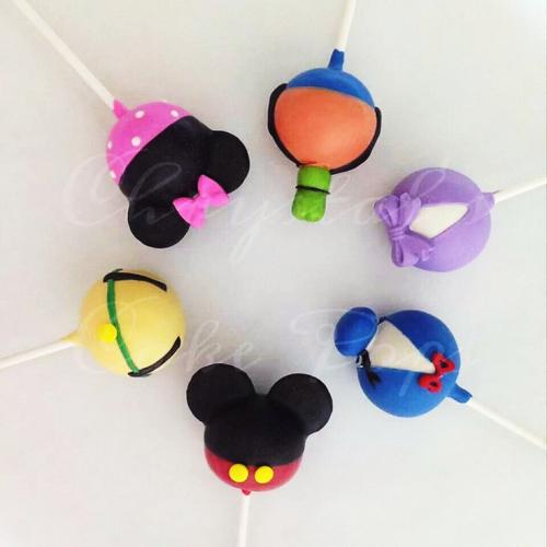 Disney Characters Pop cakes