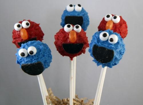 Disney Characters Popcakes Elmo