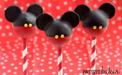 isney Characters Popcakes Mickey
