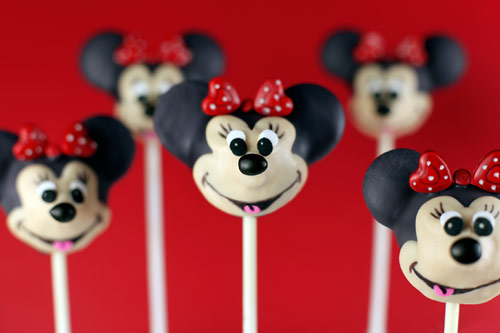 Disney Characters Popcakes Minni