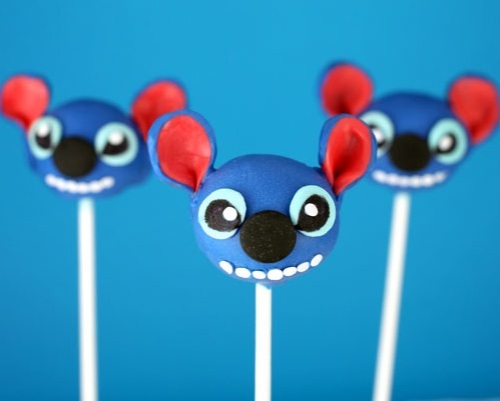 Disney Characters Popcakes Stich