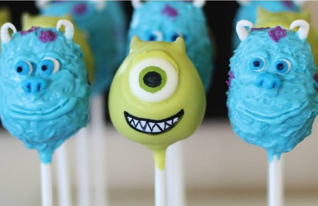 DIY Disney Characters Popcakes The Party Ville Party planner