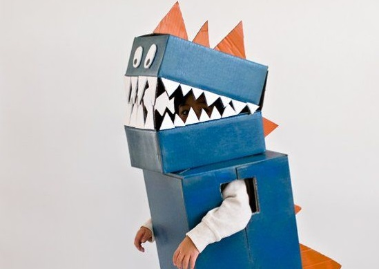 Cardbox Halloween Costume