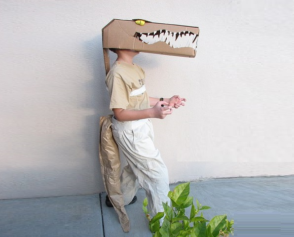 Crocodile Ecofriedly Costume