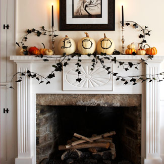 Eco Halloween-fireplace