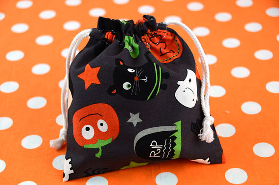 Ecofriendly Halloween Treat Bags