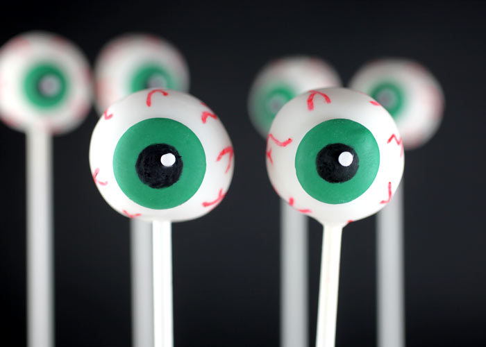 Eyeball Birthday Cake