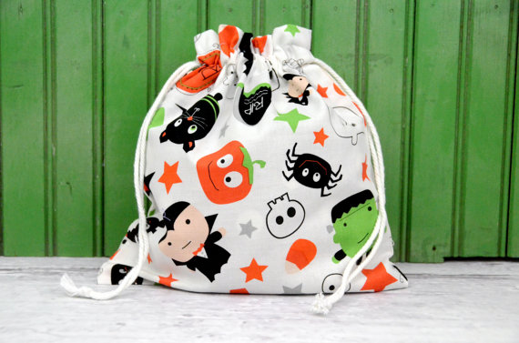 Fabric Treat Bag Halloween