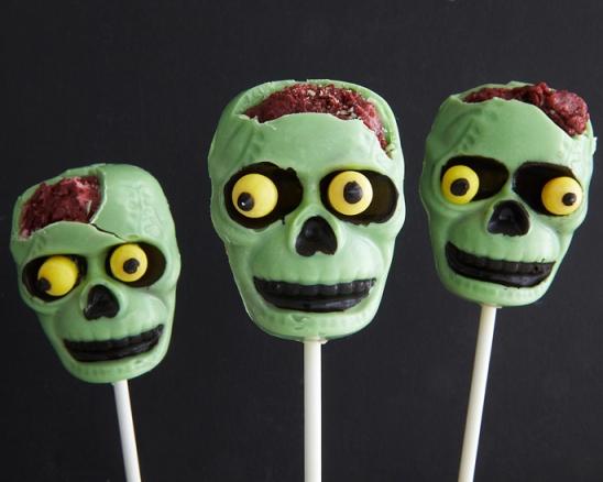 Frankenstein Popcakes