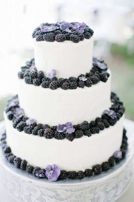 Wedding Cake with Fruits