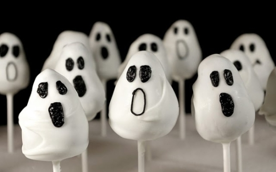 Ghost Popcakes