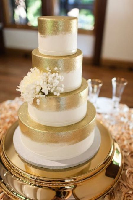 Glitter Deco Wedding Cake