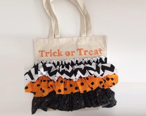 Halloween Treat Bag Fabric