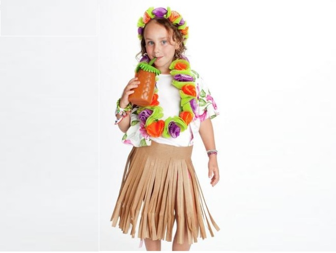 Hawaiian Ecofriendly Costume