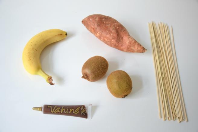 Halloween Skewers Ingredients