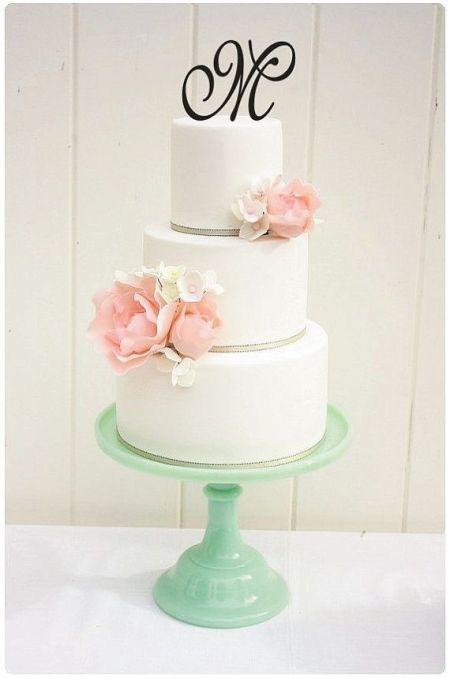 Letter Wedding Cake