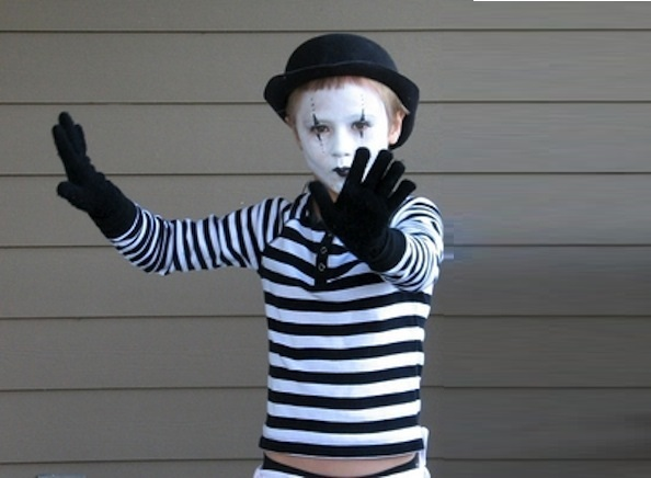 Mime Ecofriendly Costume