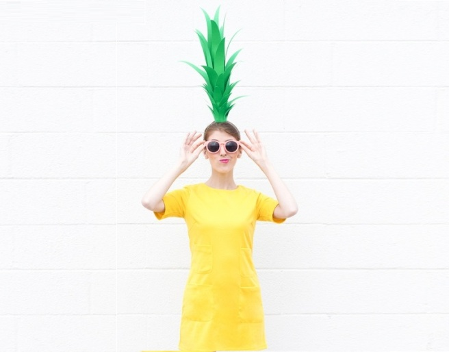 Pinapple Ecofriendly Costume