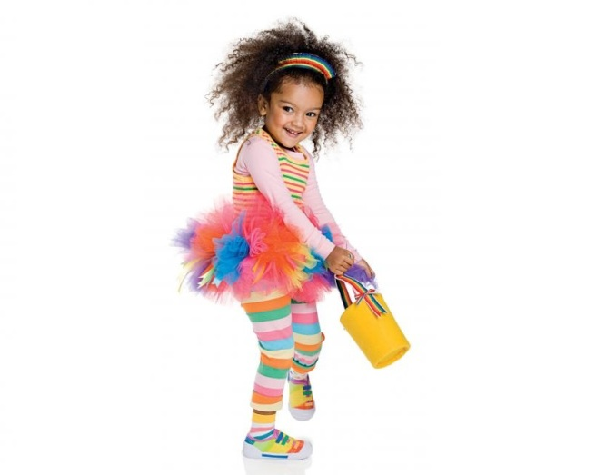Rainbow Ecofriendly Costume