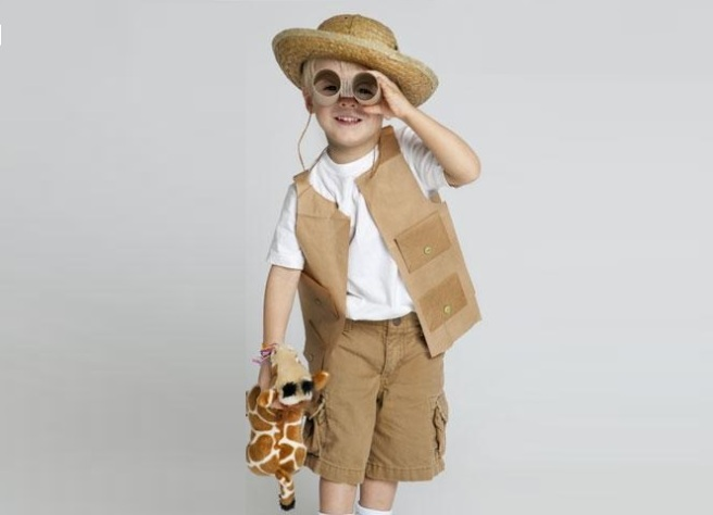 Safari Ecofriendly Costume