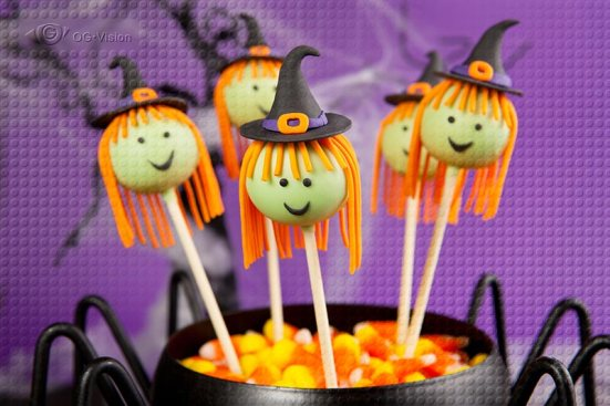 Witch Popcakes