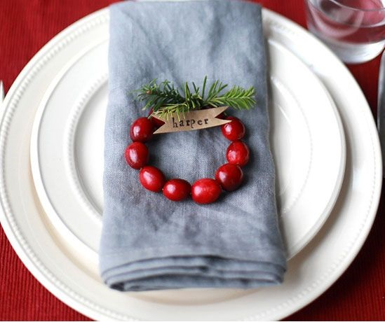 Christmas Napkins Decoration