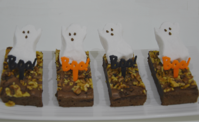 Halloween Ghosts Desserts