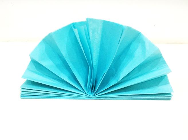 Paper Fans Step 10