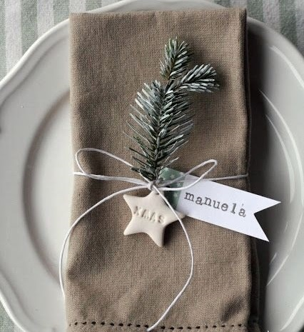 Christmas Napkin Deco
