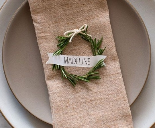 Christmas Napkins Deco