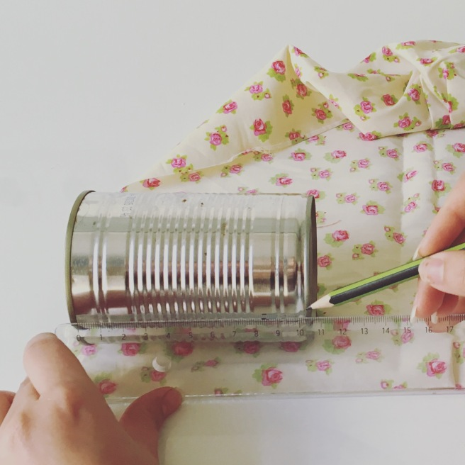 upcycled cans tutorial