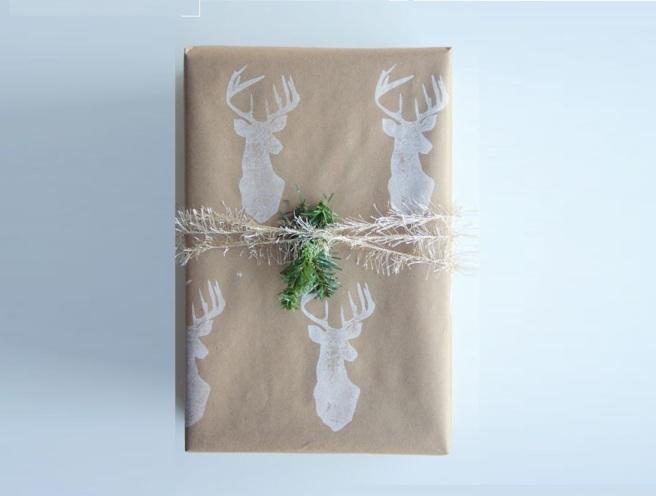 DIY Eco Gift Wrapping