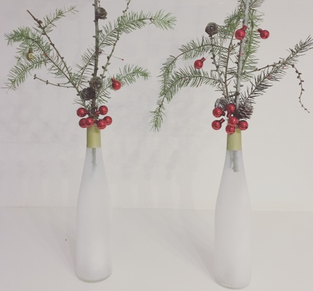 Bottles Chirstmas Decorations