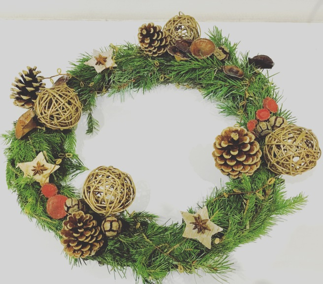 natural christmas ornaments
