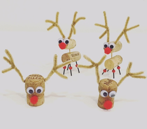 Cork Reindeers