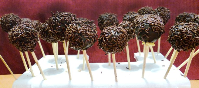 Pop cakes for wedding