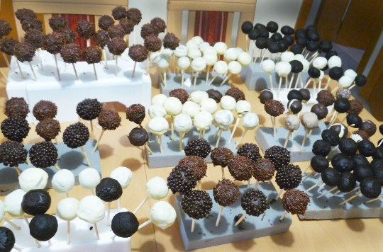 Popcakes for wedding Luxembourg