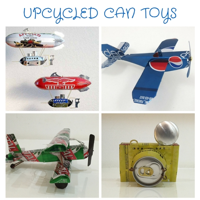 UPCYCLED CAN TOYS