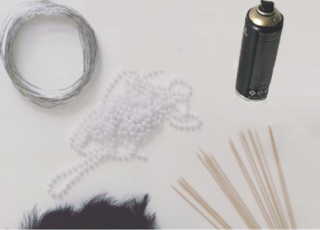 920's centerpieces materials