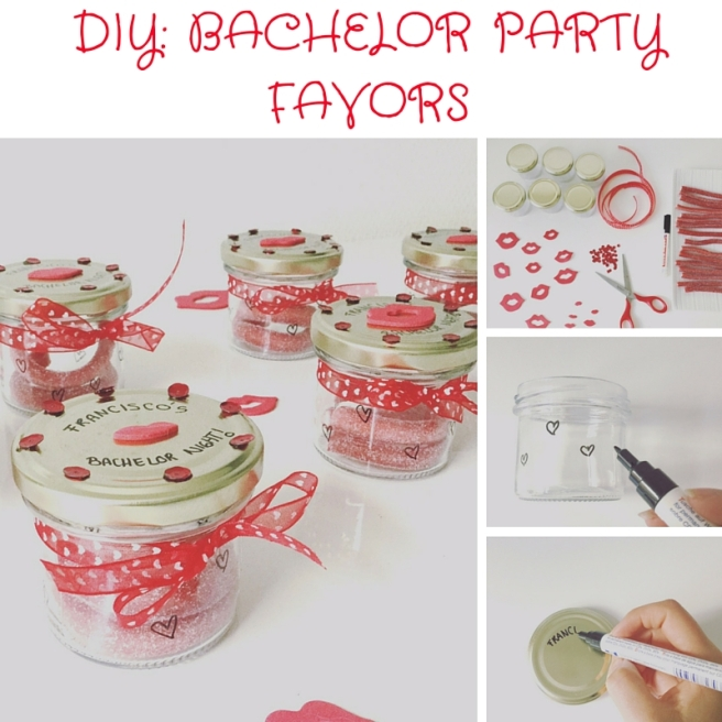 DIY Bachelor party favors