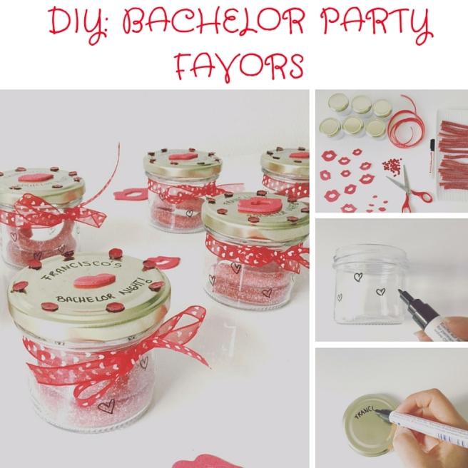 DIY Bachelor party favors