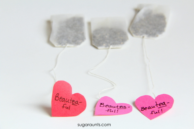 DIY Personalized Tea Bags